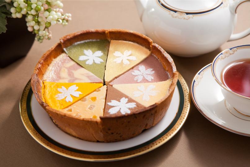 8種のチーズケーキ