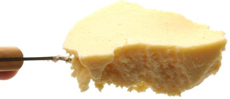 なめらかな食感の秘密はコシヒカリ米粉